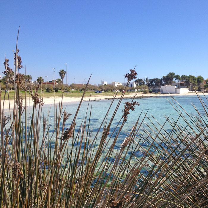 spiaggia a Sabt'isidoro