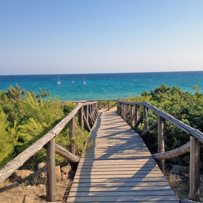 spiaggia a Campomarino di Maruggio